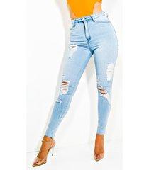 akira bare it all high rise skinny jeans