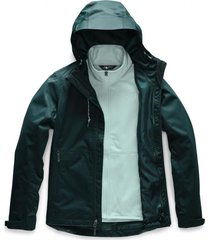 chaqueta arrowood triclimate verde the north face