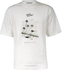 acne studios peace gallery t-shirt