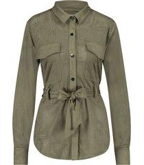 aaiko felipa lazer 567 blouses army green