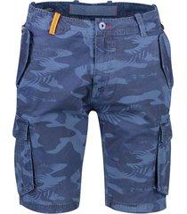 nza shorts blauw dessin