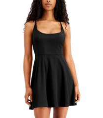 jump juniors' pleated skater dress
