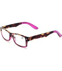 lettura quadrata ad alta definizione per pc vintage in resina da donna, moda occhiali