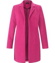 lange blazer van jersey van emilia lay roze