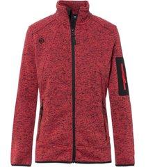 chaqueta de punto dimasa rojo izas outdoor