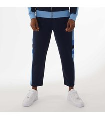 maison kitsune technical track pants - navy cm01320km0005
