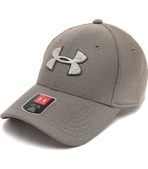 gorra café-beige under armour blitzing 3.0 classic fit