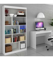 escritorio completo 25938 branco tx - hecol