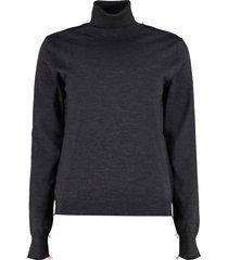 maison margiela wool turtleneck sweater