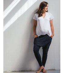 t-shirt v-neck oversize