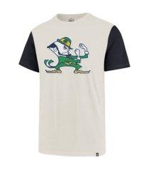 '47 brand notre dame fighting irish men's blocked fieldhouse t-shirt