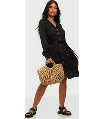 object collectors item objtilda l/s button dress noos loose fit dresses