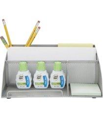 mind reader 2 piece mesh desk organizer