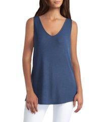 women's sleeveless v-neck swing top