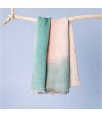 lenço fátima cor: bege - tamanho: único