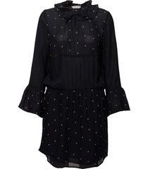 dress w. embroidered stars kort klänning blå coster copenhagen