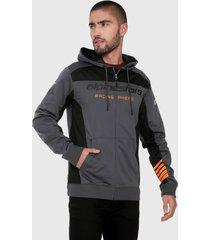 chaqueta gris-negro-naranja alpinestars