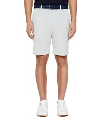 j. lindeberg men's vent shorts - white - size 36