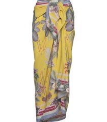 beach sarong beach wear geel by malina