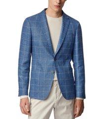 boss men's nold2 1light pastel blue jacket