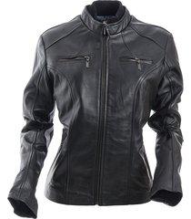 chaqueta lilya negro bosi