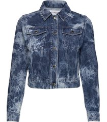 acid wash denim jacket jeansjack denimjack blauw ivyrevel