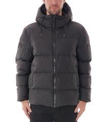 rains puffer jacket | black | 1506-01