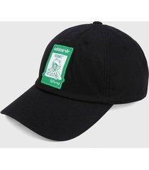 gorra negro-verde-blanco adidas originals easy being green dad