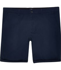 river island mens big and tall navy skinny fit chino shorts