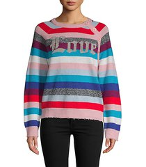 justy striped merino wool sweater