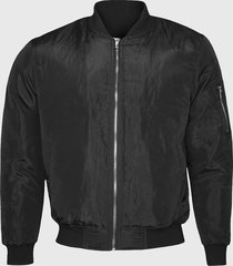 chaqueta bomber casual negra andesland