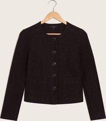 chaqueta abrigo negro xxl