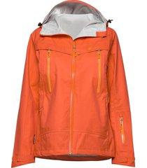runde 3-layer technical shell jacket outerwear sport jackets orange skogstad