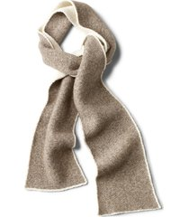 left bank double-knit scarf