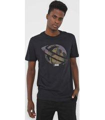 camiseta ...lost bluir saturno preta - preto - masculino - dafiti