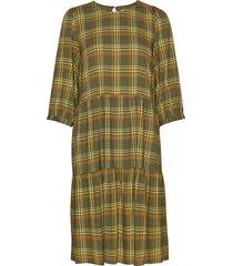 cadygz dress ms20 knälång klänning grön gestuz