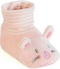 botín calcetín soft rosado ficcus