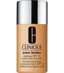 base clinique - even better makeup broad spectrum spf 15 110 chestnut