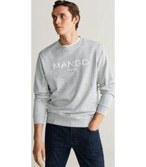 katoenen sweatshirt met logo