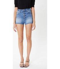 kancan women's high rise shorts