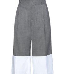 loewe cropped pants
