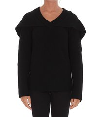 j.w. anderson cape sweater