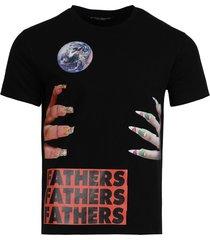 archive redux graphic nails t-shirt