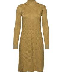 dress long sleeve stickad klänning grön noa noa