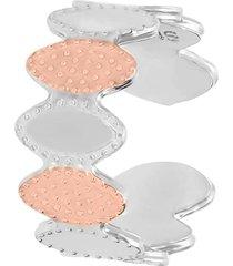 anello regolabile in bronzo rodiato arabeggiante per donna