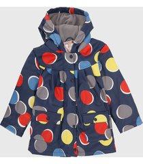 chaqueta azul-multicolor boboli