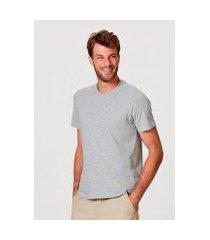 camiseta hering slim mangas curtas masculina