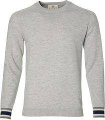 gentiluomo pullover - slim fit - grijs
