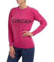 maglione maglia donna girocollo life is passion capsule collection
