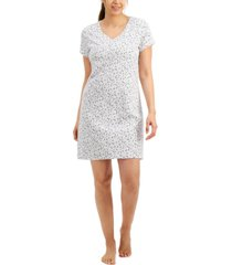 charter club short-sleeve cotton nightgown, created for macy's